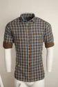 Urban Brown Design Casual Shirts