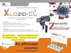 Linezolid 600mg Cefixime 200mg Lactic Acid Bacillus 60M.S  Tablet