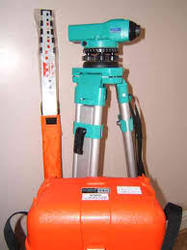 Sokkia Auto Level with Our Tripod & Staff