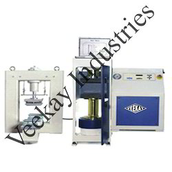 Automatic Compression and Flexure Testing Machine