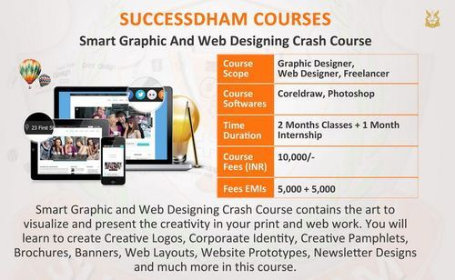 Web Designing Crash Course Short Term Courses Success Dhaam Education Society Noida Id 12626690130