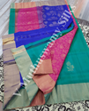 Plain Soft Silk Sarees