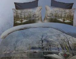 3D Bed Sheet Pair