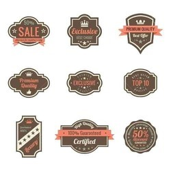 Liquor Label Stickers