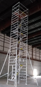 Double Width Aluminium Stairway Scaffolding System