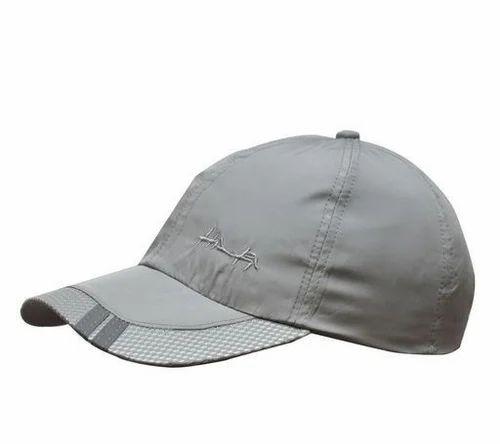 Grey Unisex Trendy Caps 37d9ad3f8ca
