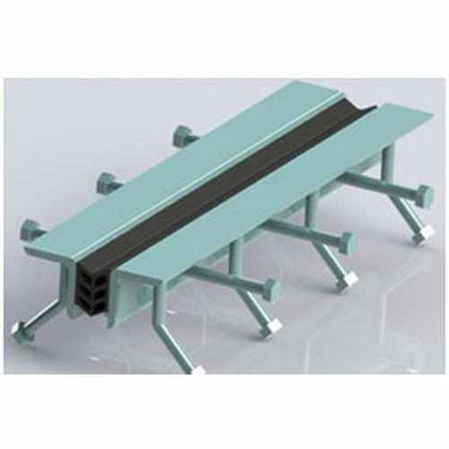Bridge expansion joints strip seal modular fingure
