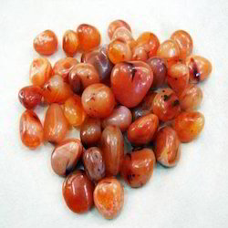 Red Carnelian Tumbled Pebble