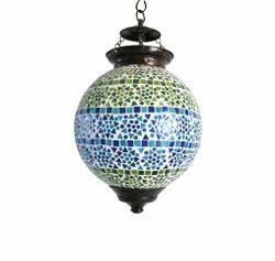 Craftkriti Fluorescent Bulb Multicolour Salgam Mosaic Lamp
