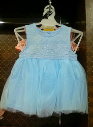 Sleveless Kids Gown