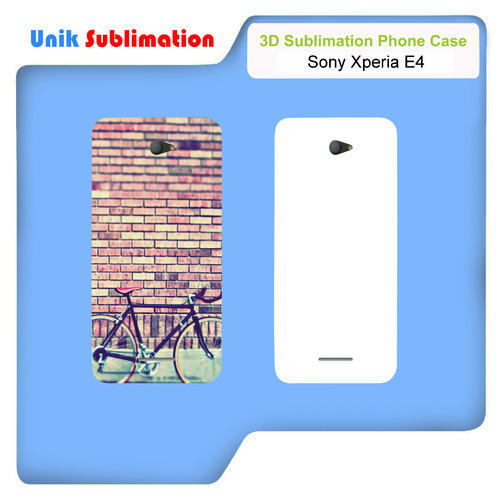 sports shoes eb82e 0a9de 3d Sublimation Mobile Cover For Sony Xperia E4