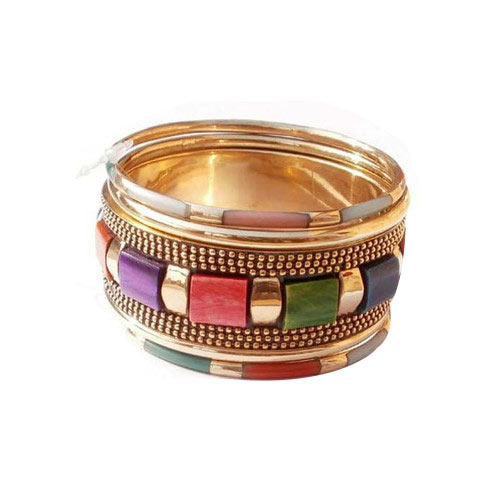 bangle jewelry women sets indian set bangles golden stone online in studded fashion for