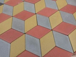 3D Tiles mould interlocking