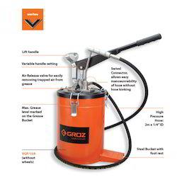 GROZ Bucket Grease Pump - Hand Operated