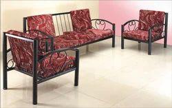Standard Mild Steel Metal Sofa Set, For Home, Living Room