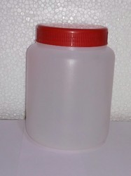 Cylindrical HDPE Jars