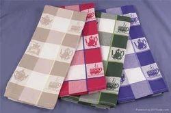 TCF Check Jaquard Kitchen Towel, 180 - 200 gsm, Size: 50 X 70 Cm