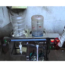 Three Phase Electric 40 Ltr Jar Washing Filling Capping Machine