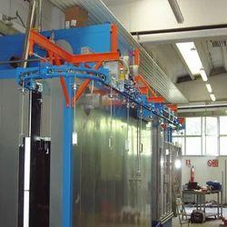 Motorized Overhead Conveyor