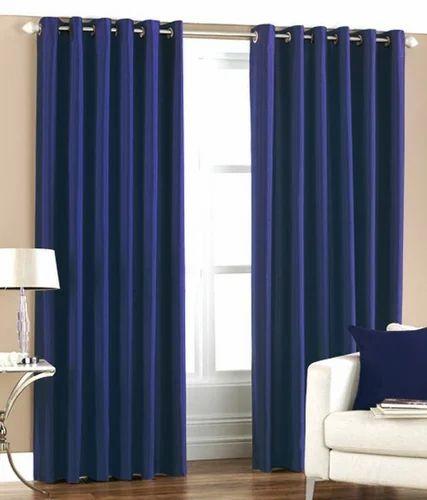 Home Royal Plain Door Curtain 7x4 Ft At Rs 499 Piece