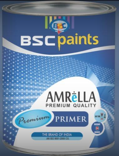 Epoxy Zinc Phosphate Primer Red OR Grey - BSC Paints Private