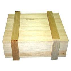 Natural Wood Colour Industrial Wooden Box