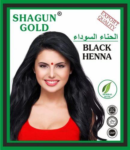 Shagun Gold Green Black Henna Hair Dye Powder Usage Personal