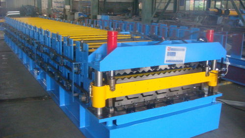Corrugated Metal Roof Panel Roll Forming Machine at Rs ...
