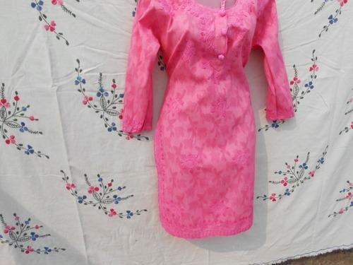 Large cotton embroidered kurti rs 210 piece adfeb applique work