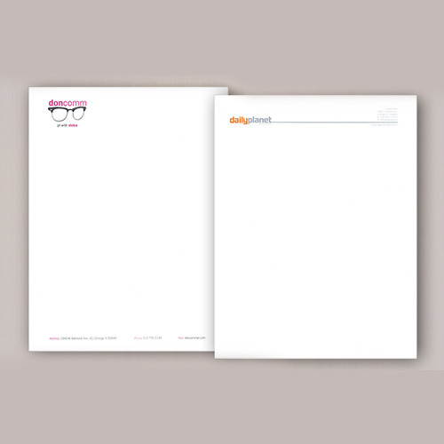 Personal Letterhead Printing Service In Gurgaon Shri Anand Print