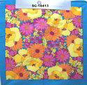 Floral Printed Cotton Bandana
