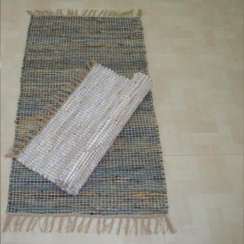 Leather Rugs चमड क ल न In