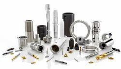钢和铝工程机械部件