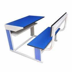 Parth Fibrotech Rectangular School FRP Desk Bench