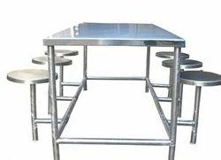 Kamal steel Ss, Ms Canteen Table