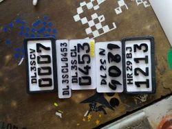 Sticker Number Plate Company Delhi Service Provider Of
