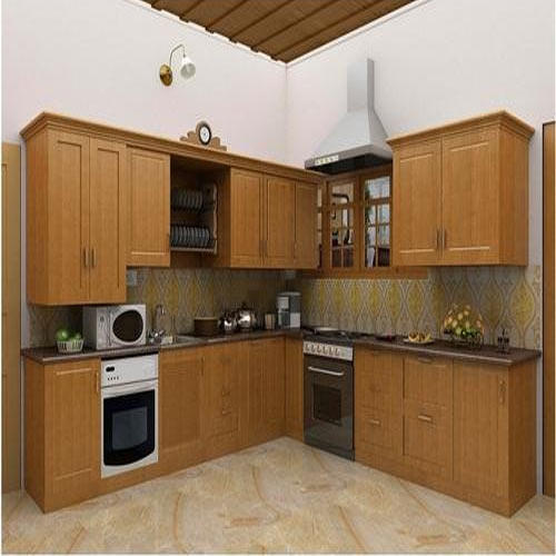 Aluminium Modular Kitchen At Rs 1100 Square Feet: Great Wall PVC Kitchen Panels, Rs 15 /square Feet, The