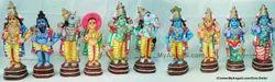 Dasavatharam Set Golu Doll / Golu Bommai