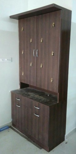 : wall mounted pooja cabinet - Cheerinfomania.Com