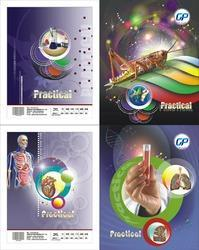 Science Practical Record Notebook