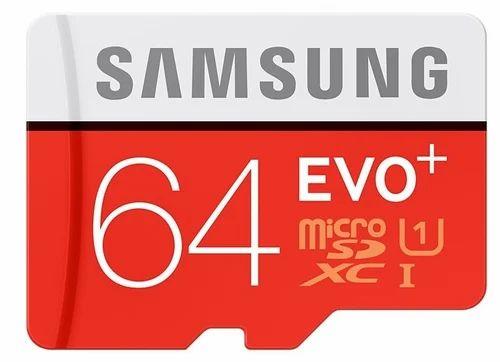 Memory Card - Samsung Micro 64 GB Class 10 Memory Card Retailer from
