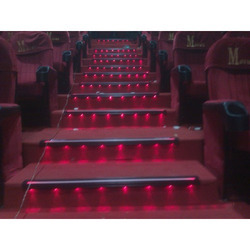 Red Theater LED Step Light