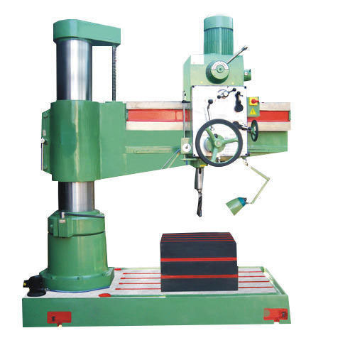 Hydraulic Lock Radial Drilling Machine 75mm Radial