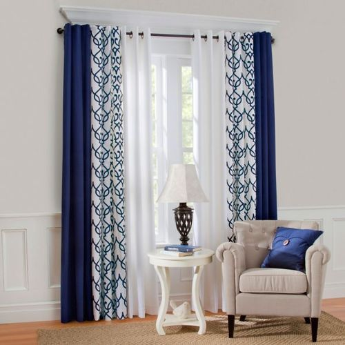 Printed Living Room Window Curtains Rs, Living Room Curtain