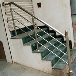 Mild Steel Ramp Railing