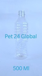 Pet 24 Transparent 500 mL Water Bottle