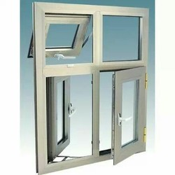 Brown & Ivory Standard Casement Windows