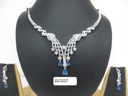 925 Sterling Silver Fashion Necklace Set