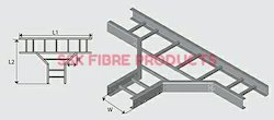 FRP Cable Ladder Type Tee