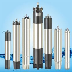 Water Filled And Oil Filled Submersible Motor